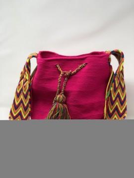 Bolso Wayuu Rosa